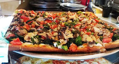 Veggie Pizza at La Galleria