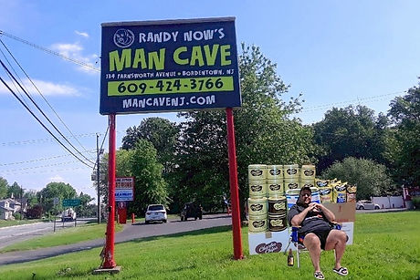 man cave sign _ christie _ chips  - Rand