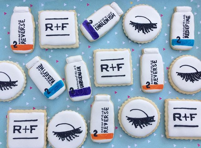 Rodan + Fields cookies for a new consultant launch party. ✨_._._.jpg