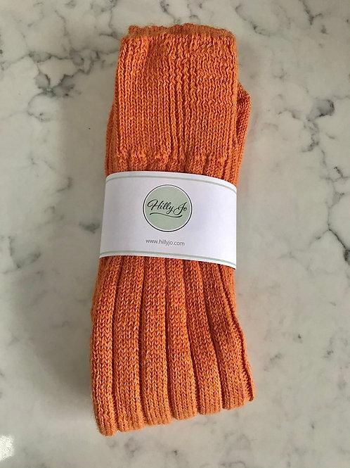 Alpaca Orange Bed Socks
