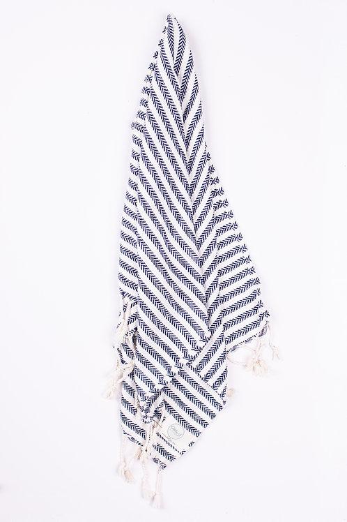 Buldan Navy Tea Towel