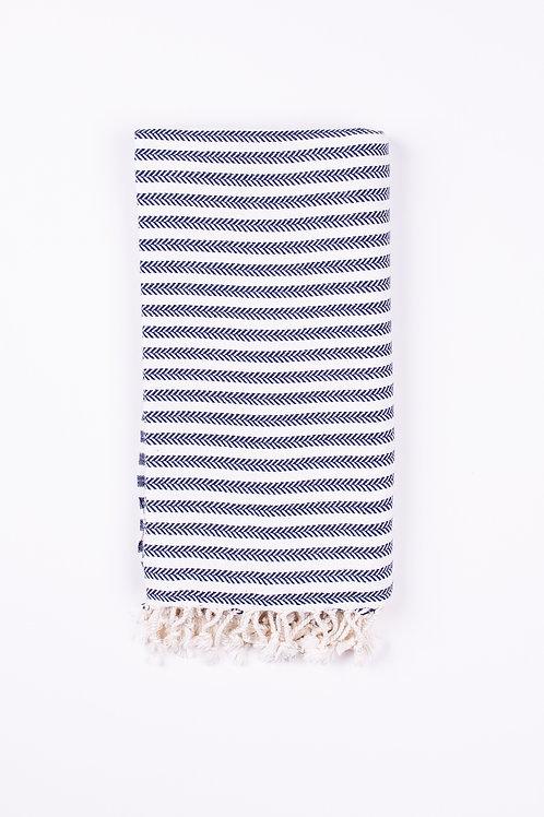 Buldan Navy Peshtemal - Hammam Towel