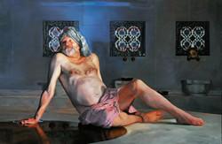 Bille Brown in a Turkish Bath