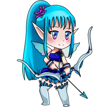 Water_1star_archer_02_pose_expression_no