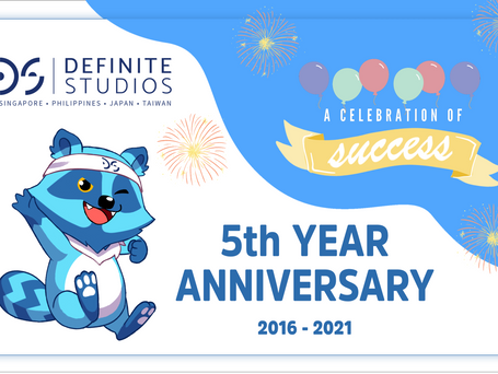From Definite to Infinite: Celebrating 5 Years with Definite Studios