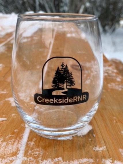 Creekside Wine Glass