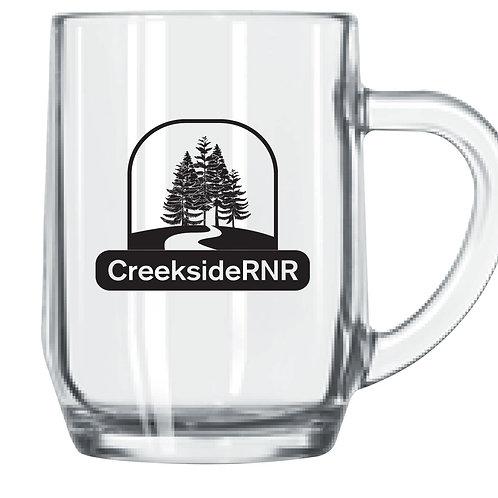 Creekside Glass Coffee/Tea Mug