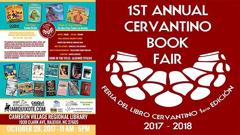 Feria de libro HIspana en Carolina del Norte