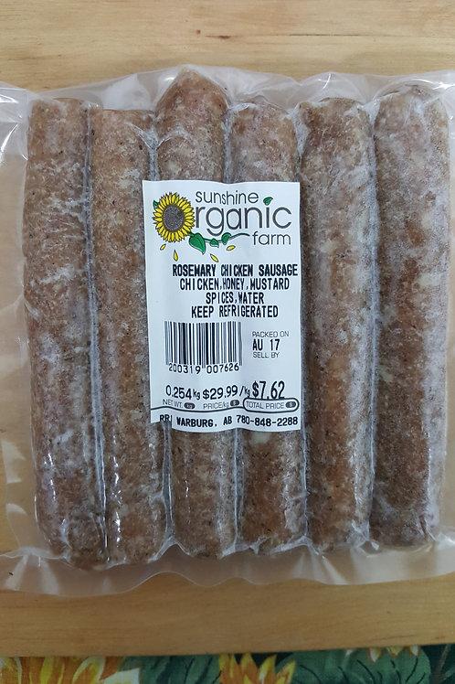 Rosemary Chicken Sausage (6/pack)