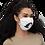 "Thumbnail: Face mask ""Si le Silence avait des Ailes"""