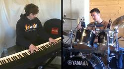 Les ateliers du Habert duo piano batteri