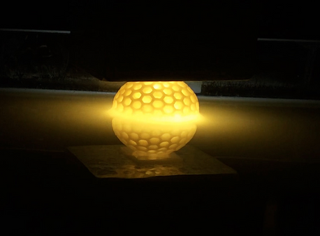 Ultra-fast Layer-less 3D Printing with Continuous Liquid Flow