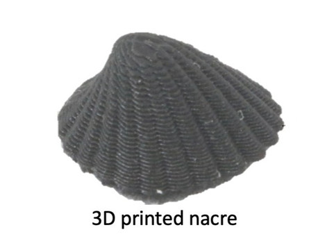Electrically assisted 3D Printing of Nacre-inspired Structures with Anisotropic Properties