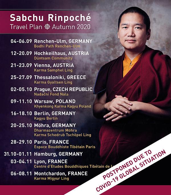 Sabchu Rinpoche_travel plan_autumn2020_p