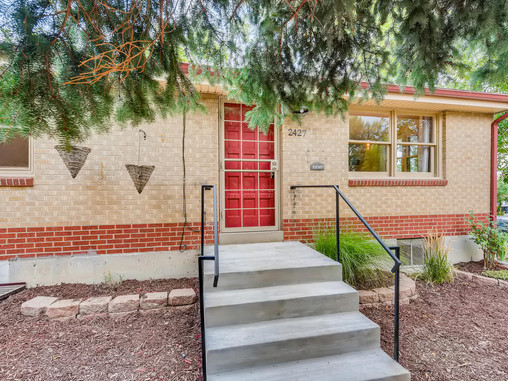 Affordable Mid Century Modern Half Duplex in Sloans Lake