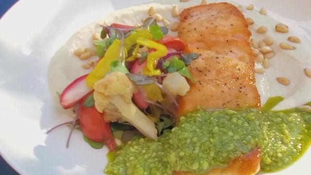 Chef Shelton Explains The New Salmon Dish
