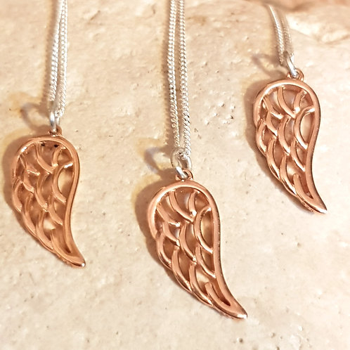 Angel Wing Necklace Teeny Weeny Series