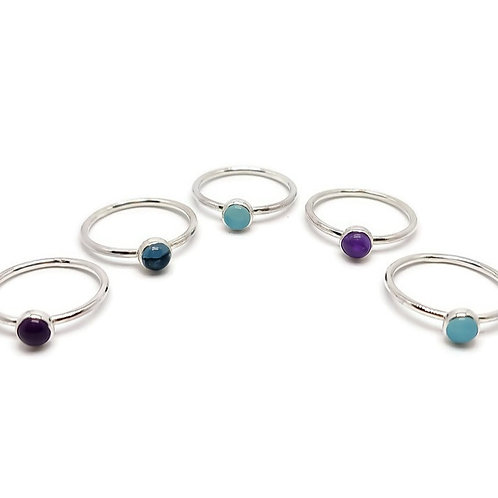Stacker Gem Set Ring Candy Girl Collection