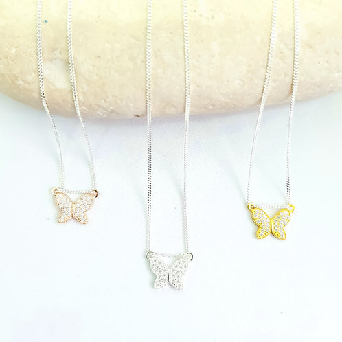 Teeny Weeny Butterfly Necklace