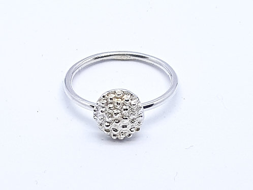 Sterling Silver Totally  Tropical Pineapple Ring Skinni Minni Series