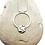 Thumbnail: Sterling Silver Reversible Circle Pendant Simplicity Series