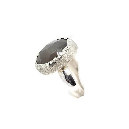 Sterling Silver Grey Moonstone Ring