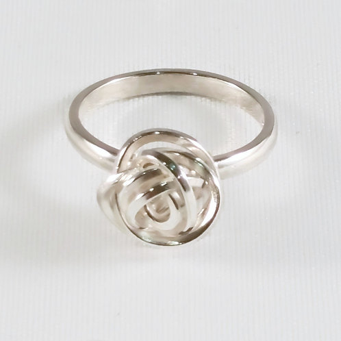 Statement Knot Delicate Band Ring scribbler Series