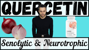Supplementing Quercetin for Neurotrophic and Senolytic Effects