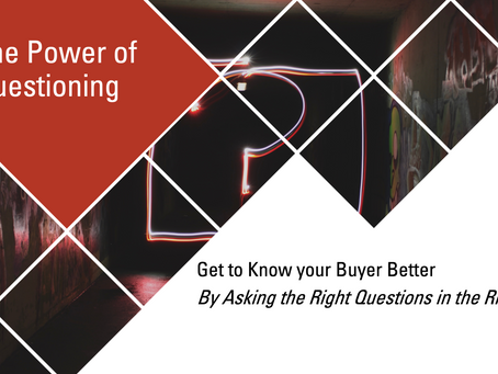 90% of Sales Professionals Do Not Know How To Ask Good Questions…