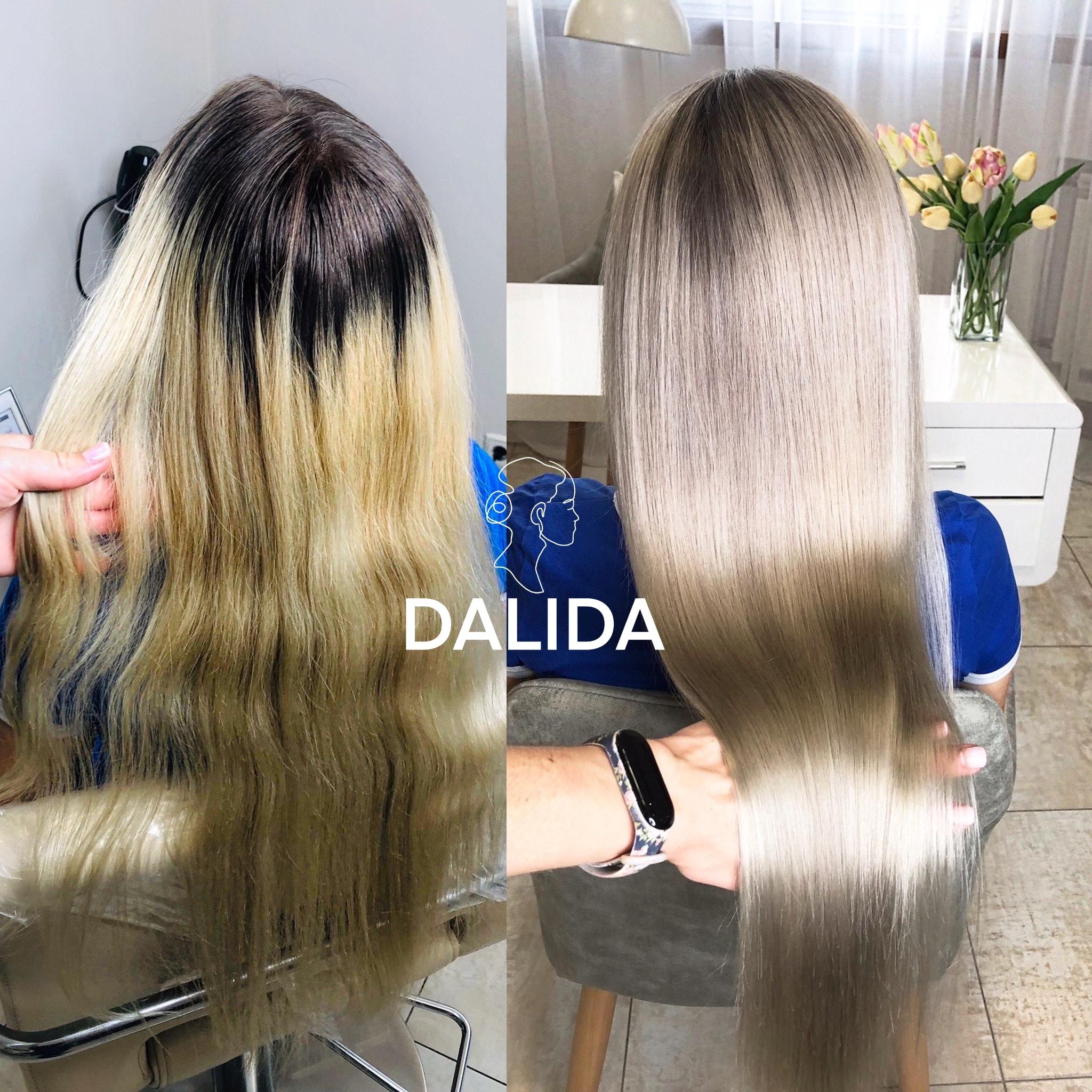 сложное окрашивание волос и уход после окрашивания