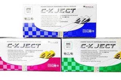 Иглы карпульные C-K JECT (100 шт/уп) евростандарт