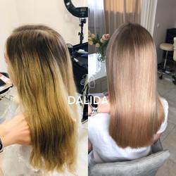 Обесцвечивание цвета волос в минске