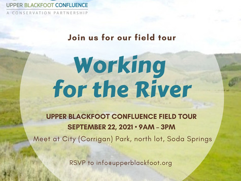 Working for the River Field Tour – September 22, 2021
