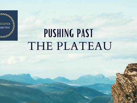 """Pushing Past """"The Plateau"""""""