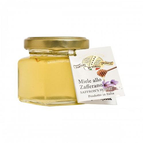 Honey with Organic Saffron 110g