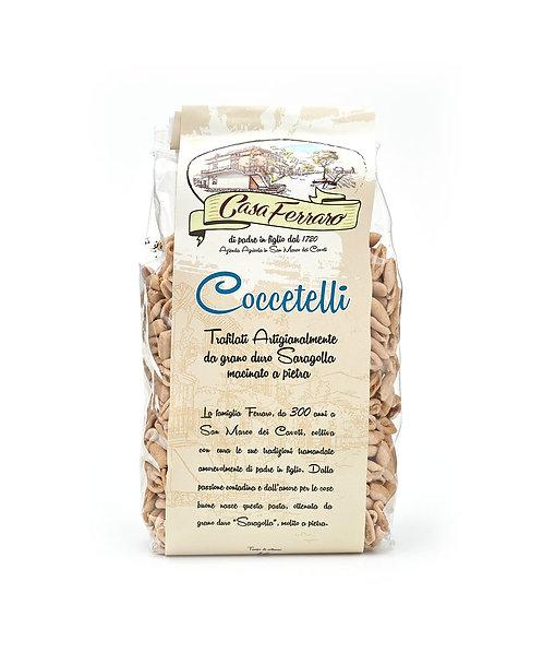 Wholemeal Cavatelli of Organic Saragolla