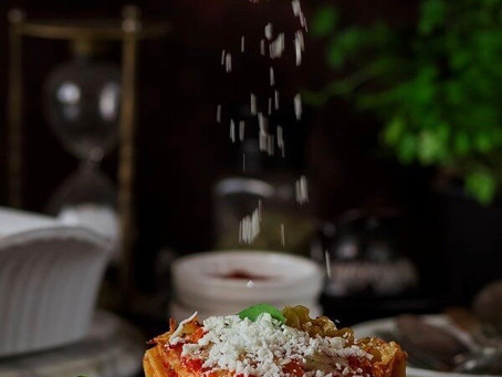Pork & Beef lasagna