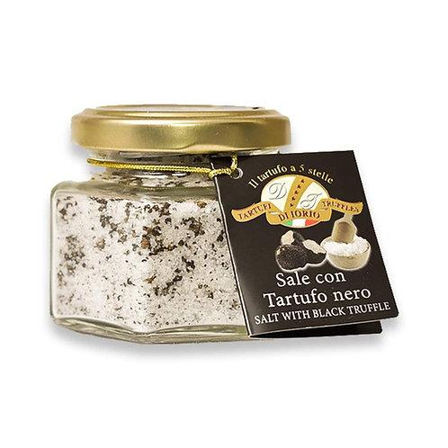Flaked Black Truffle Sea Salt - 110g