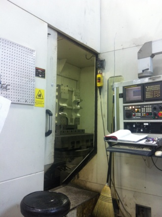 G &L HMC 410 Horizontal CNC Mill