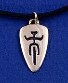 Little Cyclist Pendant