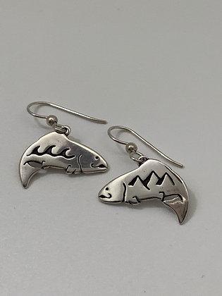Salmon River Earrings