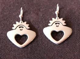 Garden Angel Earrings
