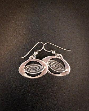 Galactic Spiral Earrings
