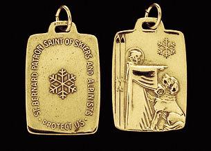 St. Bernard Medal Bronze