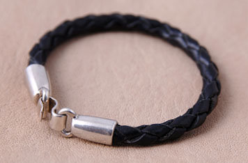 Braided Leather No Bead