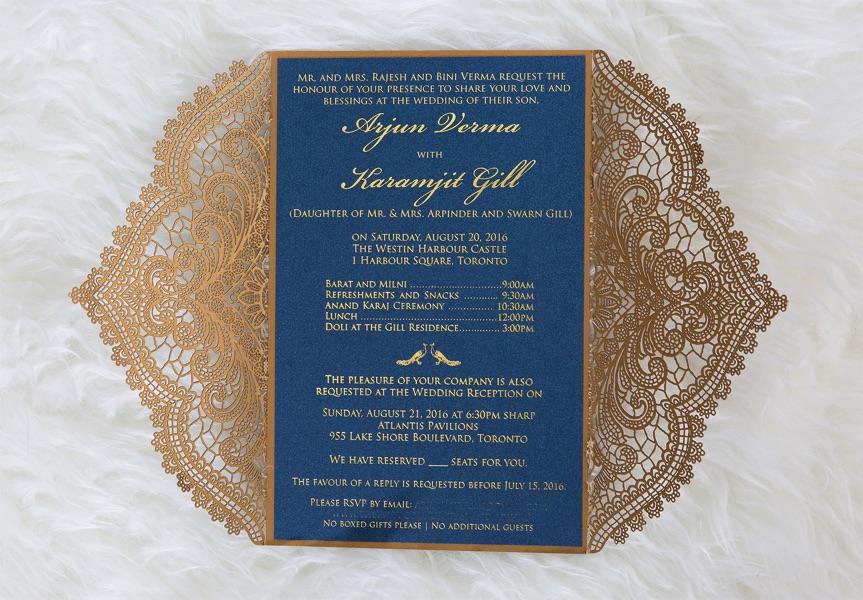 Wedding Invitation Printing Toronto: Custom Invitations