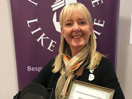 Award for Outstanding Contribution to Dementia in Kent