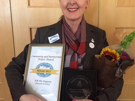 Community & Partnership Project Award Winner