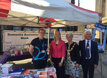 Mayor joins Dementia Action Alliance