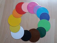 Kreise und Farben
